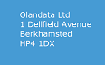 Olandata web design address 1 Dellfield Avenue, Berkhamsted, HP4 1DX